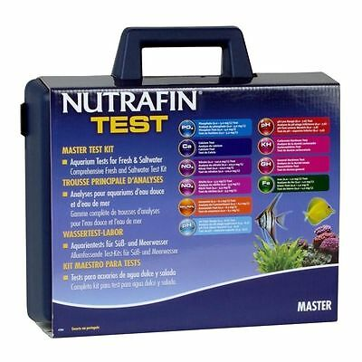 Nutrafin Master Test Kit for Salt & Fresh Water Tropical Aquarium PH Ammonia
