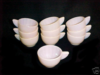 Akro Agate Large Interior Panel Opaque PINK CUPS