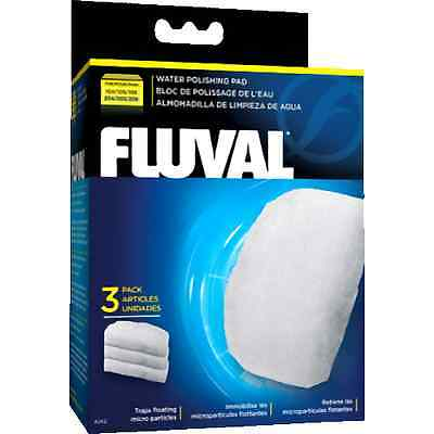 Fluval Fine Filter Pads 104 105 106 204 205 206 Pack of 3 Poly Fine Pads Fish