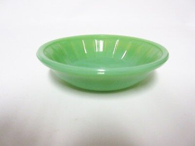Akro Agate Large Stacked Disc & Panel Opaque Green BOWL (S) / 14 Available