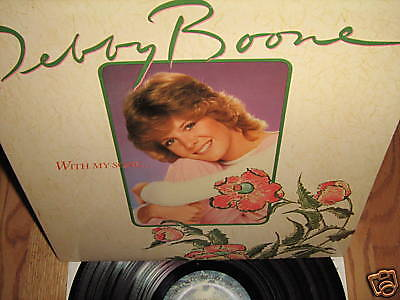 DEBBY BOONE ~ With My Song ... lp 1980 EXC!