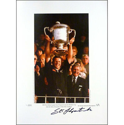 Sean Fitzpatrick signed limited edition print