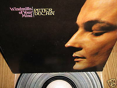 PETER DUCHIN ~ Windmills of Your Mind lp RARE EXC!!