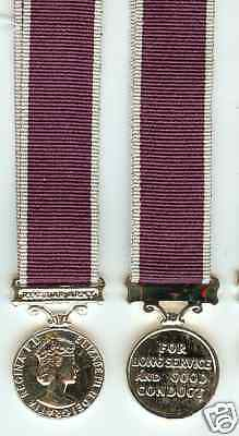 Miniature Medal - Army Long Service & Good Conduct E11R