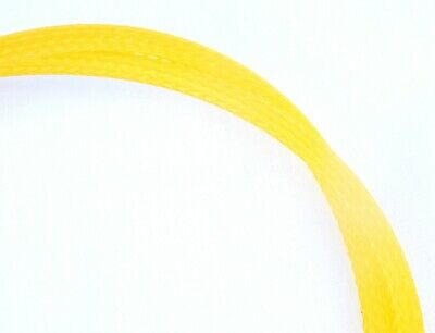 Cable sleeving for DIY projects yellow diameter expands from 10mmt to 18-20mm