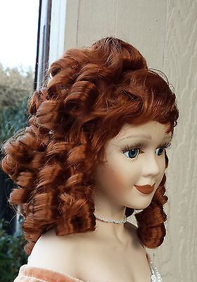 """Doll Wig - #W1 Ringlet wig size 12""""(head): CHOICE of color."""