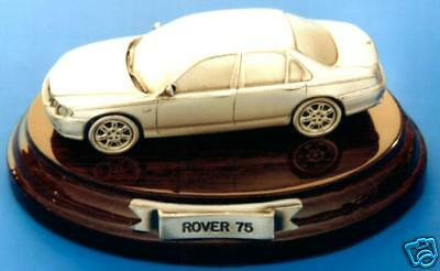Rover 75 - Solid Pewter Model Car Handcrafted - Cowley