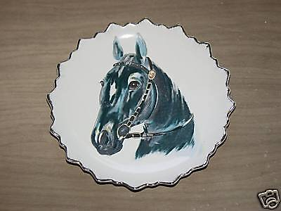 Horse Collector Plate NICE!  LOOK!  WOW!