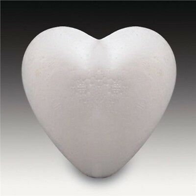 Polystyrene Valentine LOVE HEARTS 1 each of 50, 90, 110mm