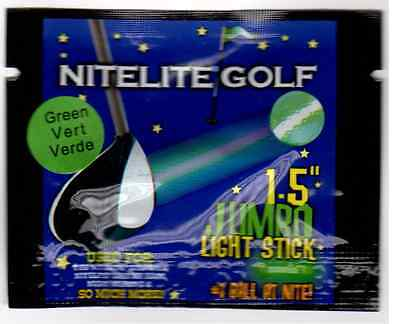 "12 Jumbo Lightsticks 1.5"" for Nitelite Glow Golf Balls"