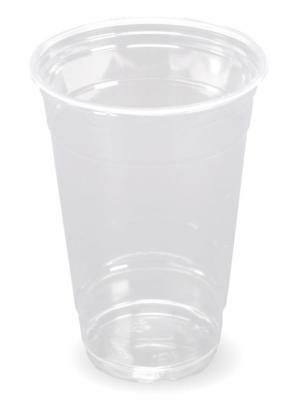 1.000 Clear Cup Becher Plastikbecher  Slush - Becher 400ml (16oz) Trinkbecher