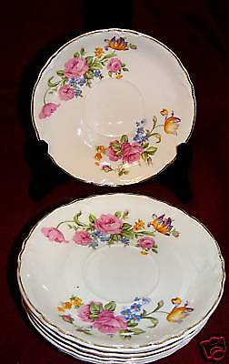 W.S. GEORGE RADISSON UNIVERSITY WARE SAUCERS 4
