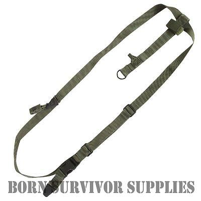 Viper 3 Point Universal Rifle Sling - Green - Airsoft