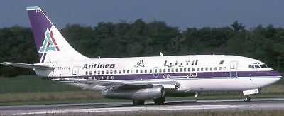 B-737 Antinea Airlines B737 Airplane Wood Model Free Shipping