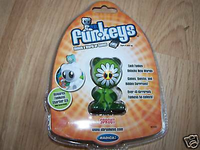 UB Funkeys Sprout Computer Game Figure Quests New Worlds Mint New