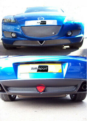 Mazda Rx8 Aftermarket Front & Rear Sports Grill Set Zma9004