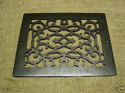 Vintage Cast Iron Register Grate > Antique Grates *