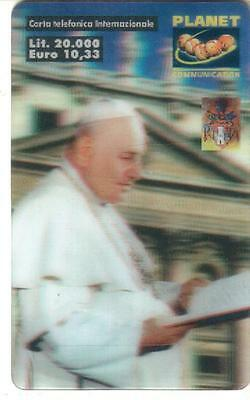 Nuova - Planet  Communication - Lire 20.000 - Immagine Papa - Sc 30/09/2000