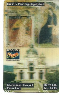 Nuova - Planet  Communication - Lire 20.000 - Basilica Assisi