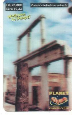Nuova - Planet  Communication - Lire 20.000 - Welcome To Pompei