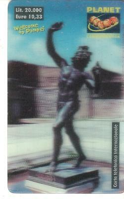 Nuova - Planet  Communication - Lire 20.000 - Statua Pompei
