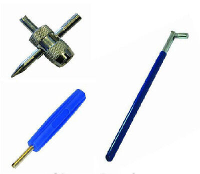New Tyre Valve Repair / Remover / Puller Tool Kit - Post To Europe Eu Countries