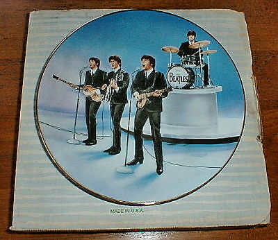 "BEATLES ""Live In Concert"" #'d Limited Edition plate COA"