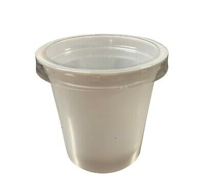 Produce Pots 150g - Pack of 100 with lids