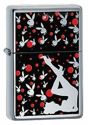 Playboy Crown-Stamped Zippo Lighter (24473)
