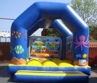 Sealife A Frame  Bouncy Castle 11.5 FT X 11.5 FT Made To Order