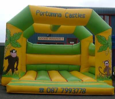 Jungle A Frame Bouncy Castle 11.5 FT X 11.5 FT Made To Order
