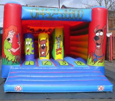 BiffnBash Standard  Bouncy Castle 13.5 FT X 13.5 FT Made To Order