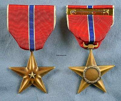 Bronze Star Medal -Full size made in the USA- USM034 BSM