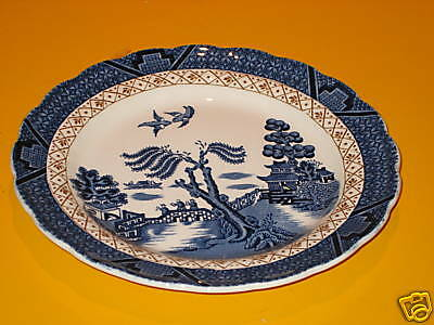 "BOOTHS REAL OLD WILLOW SIDE PLATE dia 7""   (0.25/B82)"