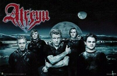 Atreyu Poster - Planets Group Shot - Rare New Hot 24X36