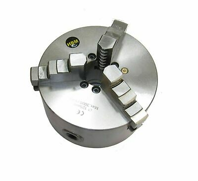 Rdgtools 160Mm 4 Jaw Self Centering Lathe Chuck Int / External Jaws Front Mount