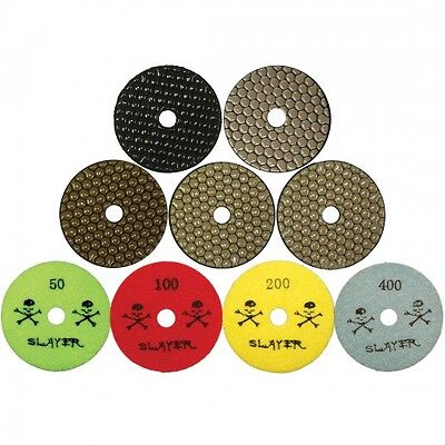 4 Inch Dry Premium Polishing Pads From Slayer