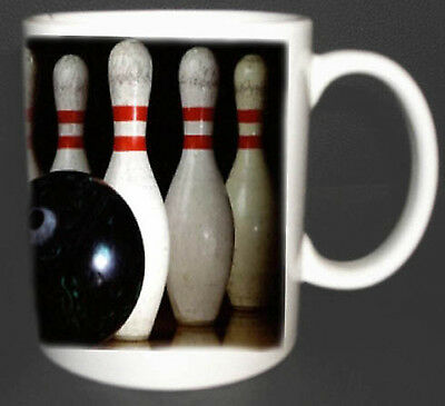 Ten Pin Bowling Mug. Great Design. Limited Edition. New