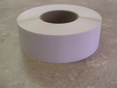 """1 Roll White 2"""" x 2"""" Thermal Transfer Labels 3"""" Core 1000 labels p/r for Datamax"""