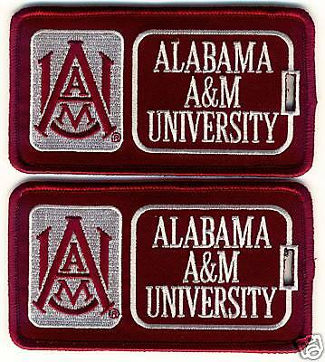 ALABAMA A&M UNIVERSITY Luggage ID Tags (Set of 2)