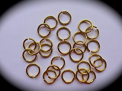 50 x GOLD WEDDING RINGS for Cardmaking, Scrapbooks, Wedding Cards, Favours