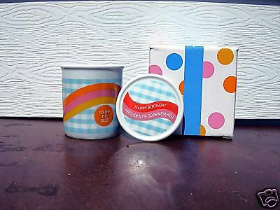 Avon 1987 Presidents Birthday Gift Mug With Cover