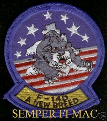 Us Navy F-14 D Tomcat A New Breed Patch Pin Uss Topgun