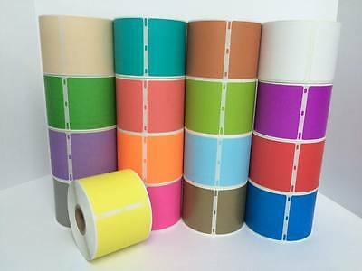 This Listing is for 1 Roll 2.312x4 YELLOW Dymo Compatible 30256 Labels
