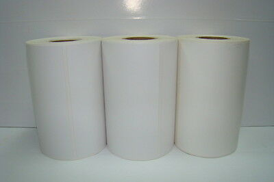 2 Rolls of White 4x6 Direct Thermal Labels Zebra QL-420, 110 labels per roll