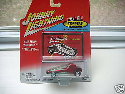 Johnny Lightning The Lost Toppers Commuter.