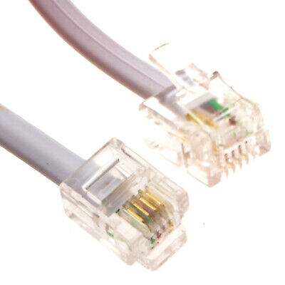 5M RJ11 to RJ11 BT ADSL Broadband Modem Router Cable