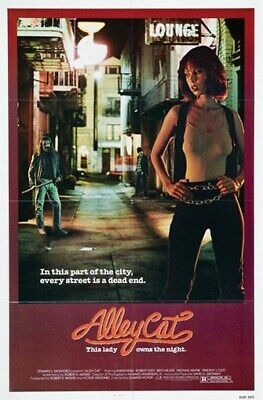 ALLEY CAT MOVIE POSTER Dead End RARE HOT NEW