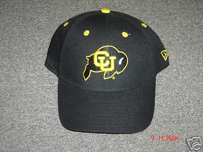 COLORADO BUFFALOS NEW ERA HAT (FITTED) SIZE 7 1/4 NEW