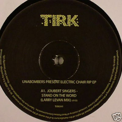 "Unabombers Electric Chair RIP EP 12"" Joubert Singers"